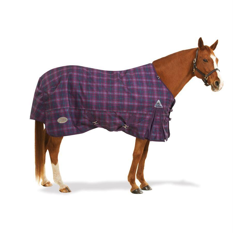 Centaur® 1200D Plaid Turnout Blanket - 150 gram