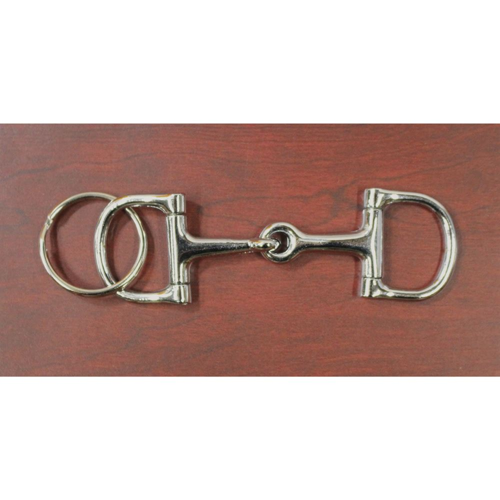 D-Ring Snaffle Bit Key Fob  17237c1d2a85