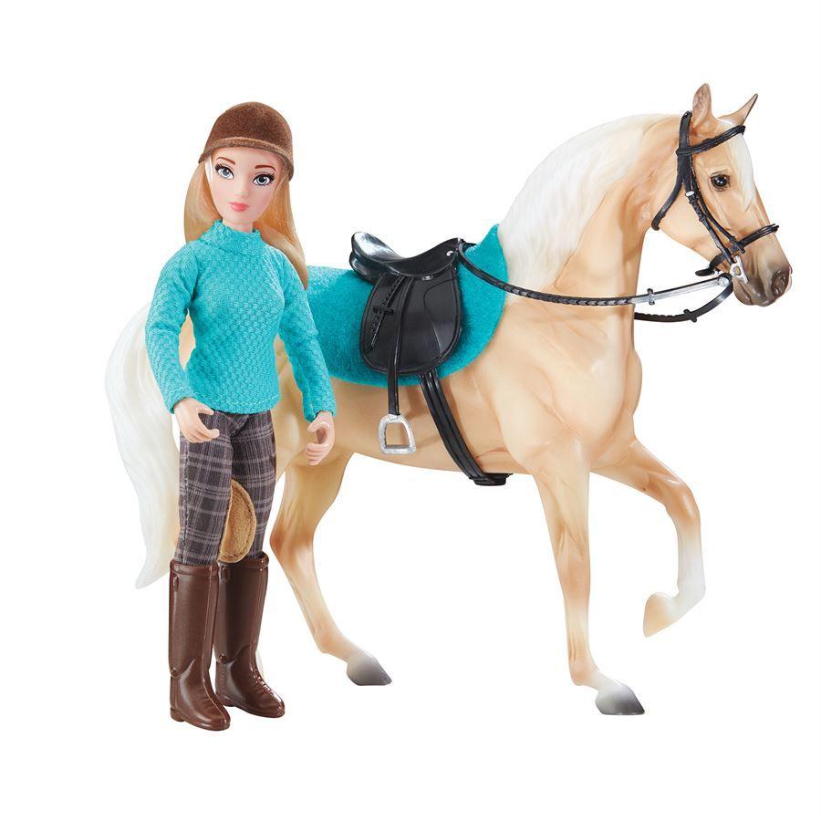 New Breyer Traditional Makayla Schooling Rider