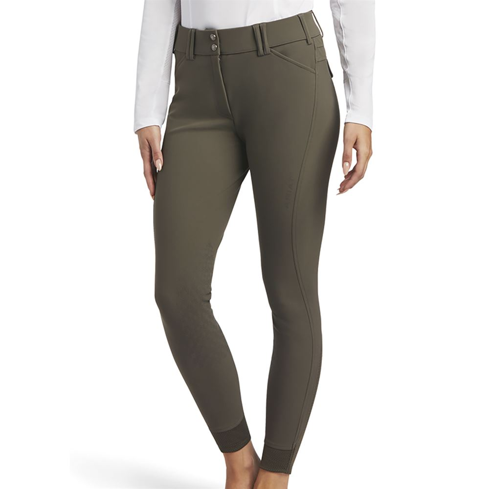 Ariat Ladies Tri Factor Grip Knee Patch Breech Dover Saddlery