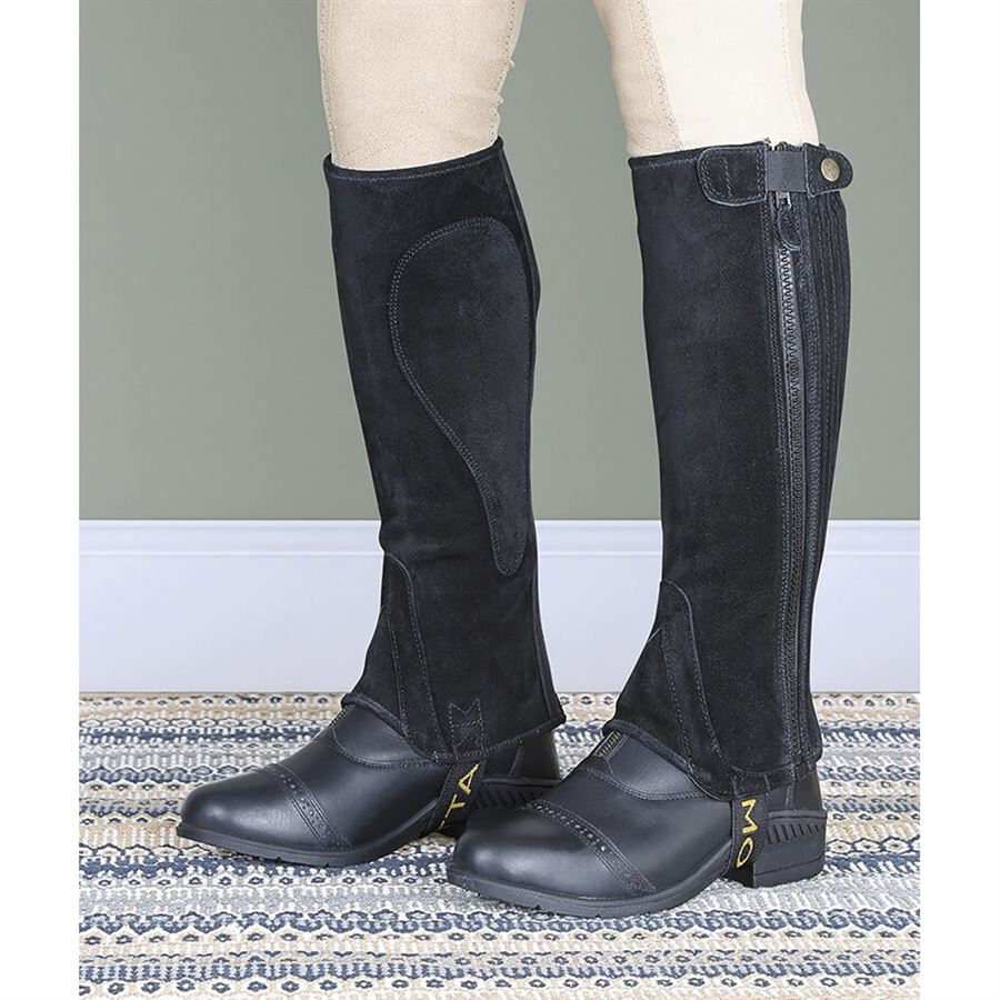 Shires Adults Moretta Suede Half Chaps Dover Saddlery