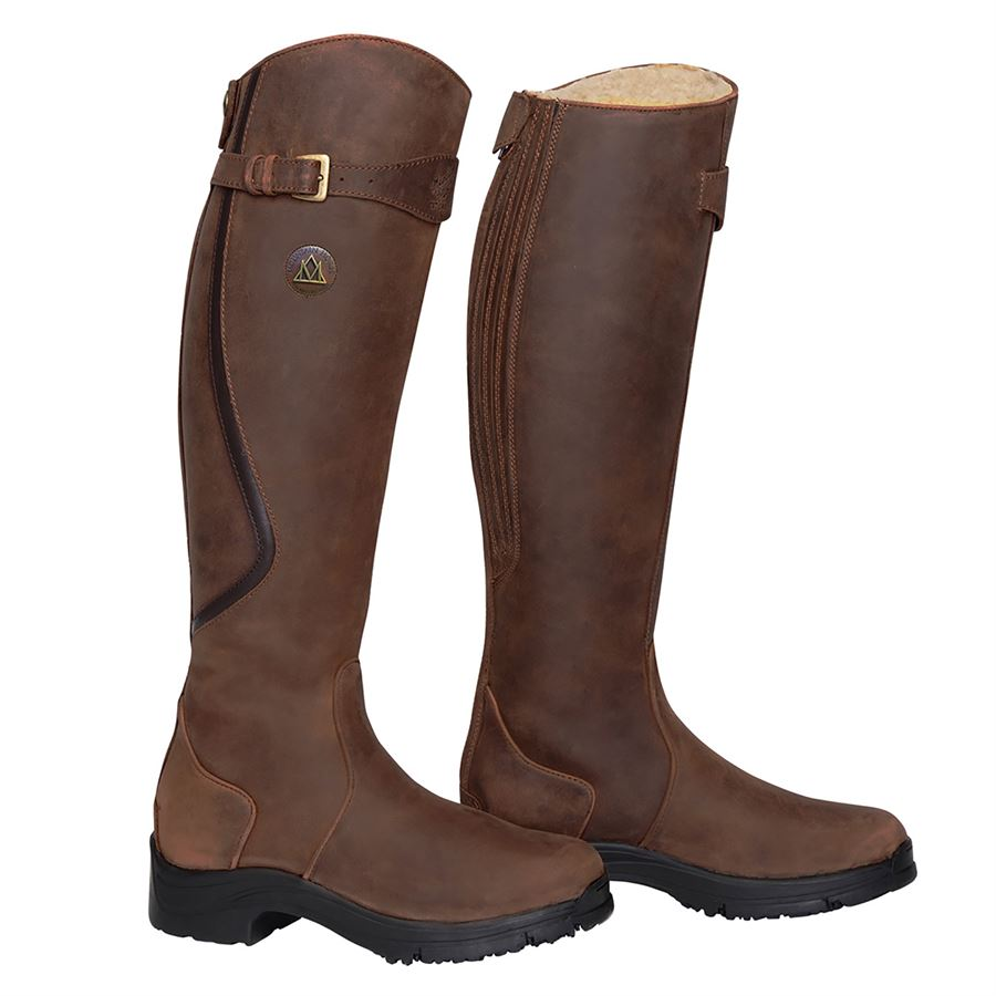566b285f6619 Mountain Horse® Snowy River Tall Winter Boots. Colors Options  Black  Regular Black Wide Brown-Reg ...