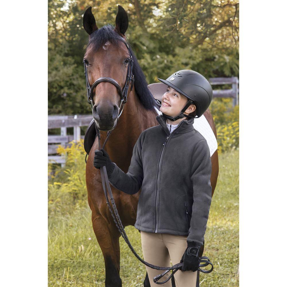 Dover Saddlery Girls Greylock Fleece Jacket